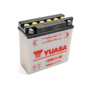 Batteria per Yamaha RD 350 standard Yuasa 12V-5.5Ah