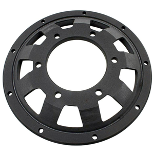 ABM brake disc spare contour flange offset 26.5mm black