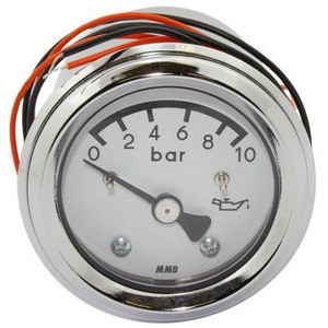 Analog manometer oil MMB