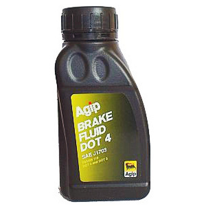 Brake & clutch fluid Agip DOT 4 0.25lt