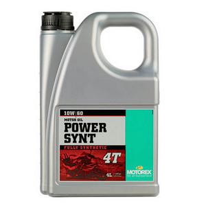 Engine oil 4T Motorex 10W-60 Power Sint 4lt