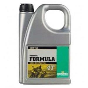 Engine oil 4T Motorex 15W-50 Formula 4lt