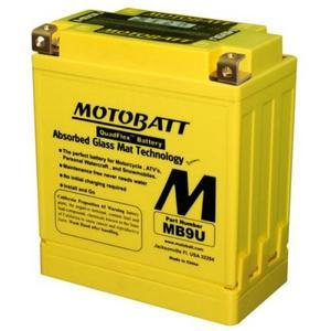 Battery Suzuki GT 380 sealed Motobatt 12V-11Ah