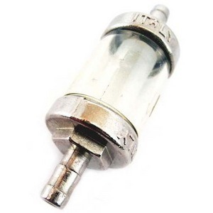 Fuel filter 8mm transparent