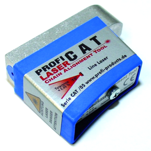 Laser allineamento catena Profi Cat Line