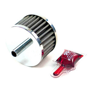 Crankcase vent filter 13mm cilindrical K&N