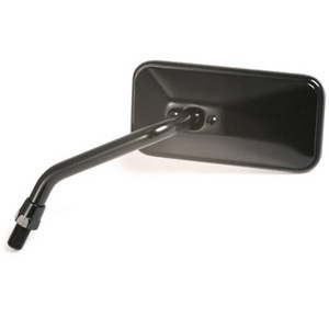 Rearview mirror Bobber short black left
