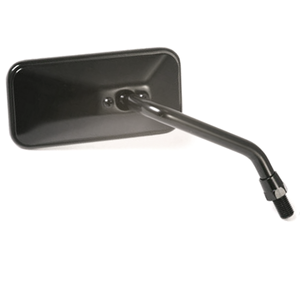 Rearview mirror Bobber short black right