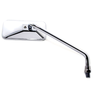 Rearview mirror Bobber long chrome right