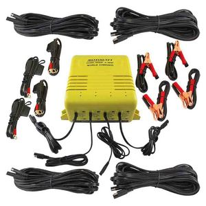 Battery charger Motobatt 12V-4Ah 4 batteries
