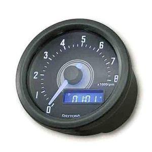 Contagiri elettronico Daytona60 8K nero