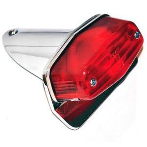 Halogen tail light Lucas Replica mini license plate holder