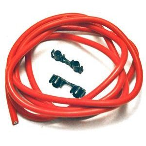 Ignition lead cable 7mm silicone red