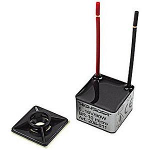 Relè intermittenza frecce alogenge/led 5-16V, 90W Highsider