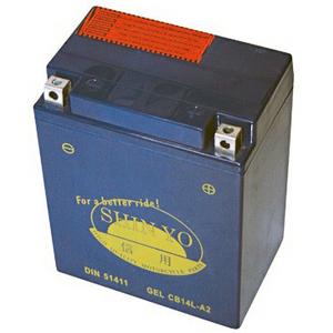Batteria al gel Shin Yo 12V-13Ah per Benelli 654 Sport