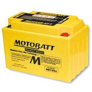 Batteria per Suzuki GSX-R 750 SRAD sigillata MotoBatt 12V-10.5Ah