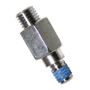 Adattatore filetto destro maschio-maschio M8x1.25-M10x1.25 cromo