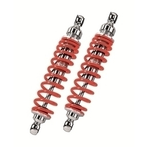 Twin rear dampers Bitubo Comfort WMB 370mm red