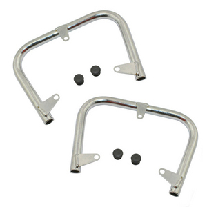 Crash bar Moto Guzzi V 35 Old Style cylinders chrome