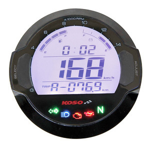 Electronic multifunction gauge Koso DL-03 black