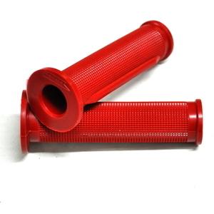 Coppia manopole Ariete Daytona 22mm rosso