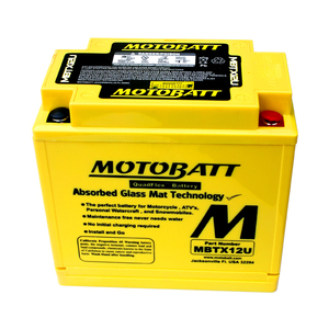 Battery Yamaha FJ 1200 sealed Motobatt 12V-14Ah