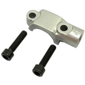 Collare fissaggio pompa freno/frizione Brembo semiradiale grigio M10x1.25 filetto sinistro
