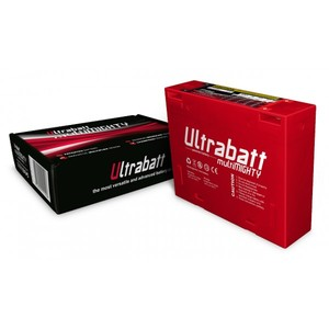 Batteria Ioni di Litio Ultrabatt 12V-120A, 6Ah