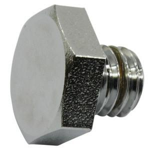 Bullone olio M10x1.5 cromo