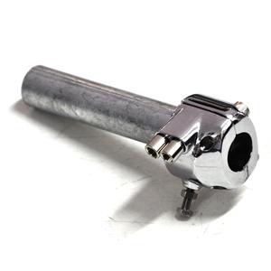 Comando gas 22mm bicavo British cromo