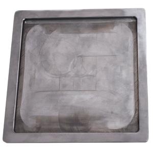 Base targa alluminio
