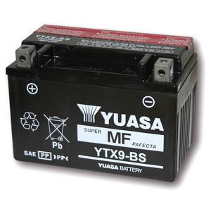 Battery Suzuki GSX-R 750 W standard Yuasa 12V-8Ah complete