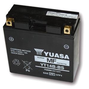 Batteria per Yamaha XJR 1300 sigillata Yuasa 12V-12Ah
