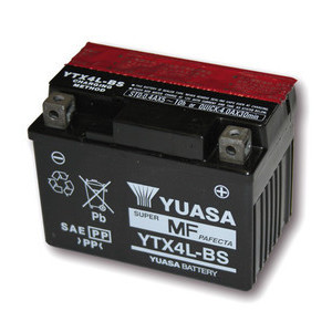 Batteria per Yamaha TT 600 sigillata Yuasa 12V-3Ah