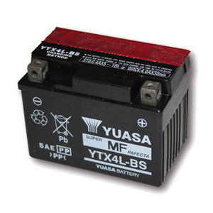 Battery Suzuki DR 650 R standard Yuasa 12V-3Ah complete