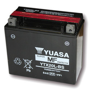 Battery Yamaha TX 750 standard Yuasa 12V-18Ah complete