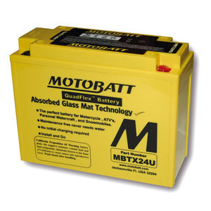 Battery Kawasaki Z 1300 sealed Motobatt 12V-25Ah