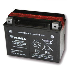 Batteria per Moto Guzzi V 11 sigillata Yuasa 12V-13Ah