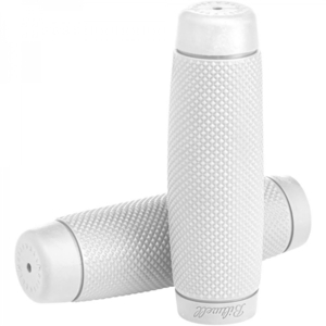 Coppia manopole BiltWell Recoil 22mm bianco