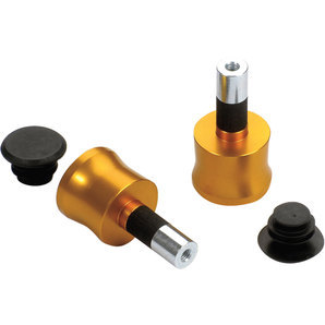 Bar-end weights LSL 14/18mm gold