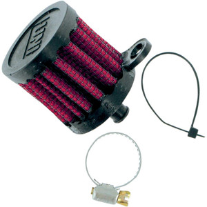 Crankcase vent filter 10mm cilindrical UNI
