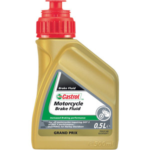Brake & clutch fluid Castrol DOT 4 0.5lt