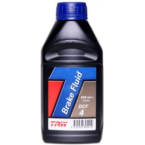 Brake & clutch fluid TRW DOT 4 0.5lt