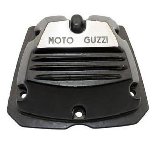 Coperchio distribuzione per Moto Guzzi V 35 nero