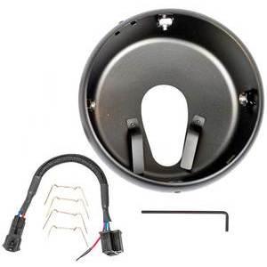 Kit montaggio faro per Moto Guzzi Griso J.W. Speaker nero