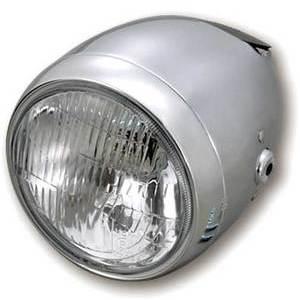 Faro anteriore 5.3/4'' Daytona Vintage alogeno cromo