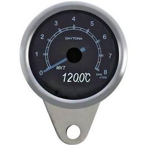 Electronic tachometer Daytona Classic 8K polish
