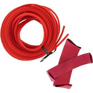Kit guaine cavi elettrici rosso