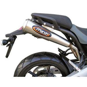 Coppia finali di scarico per Yamaha MT-03 Marving Racing Steel alti