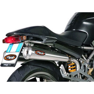 Finale di scarico per Ducati Monster 600 Marving Racing Steel alti coppia